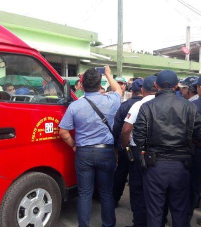 Detiene Policía Federal transportistas en carreteras; crece conflicto con mototaxis en JMM