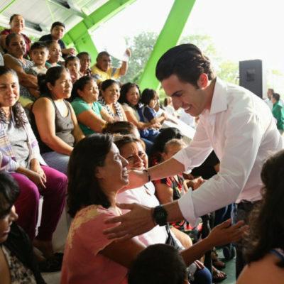 Inaugura Alcalde domo deportivo de la SM 228 de Cancún