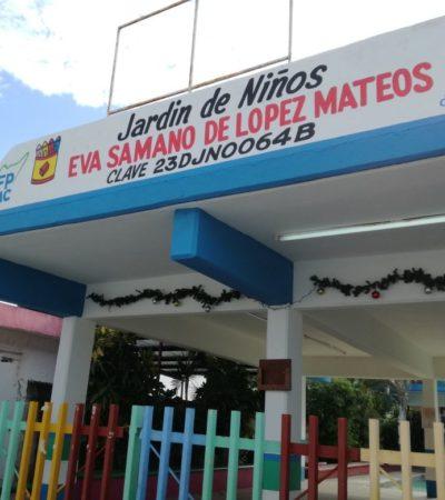 Hartazgo por robos en escuelas de Cozumel