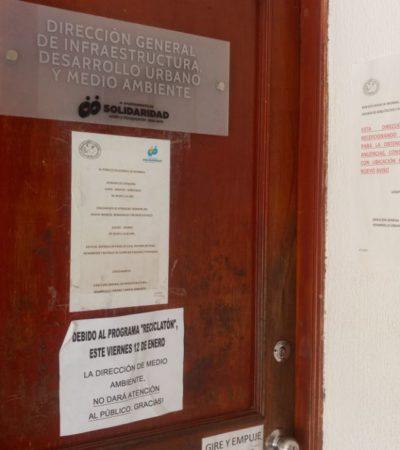 Dirección de Desarrollo Urbano, acéfala en Solidaridad