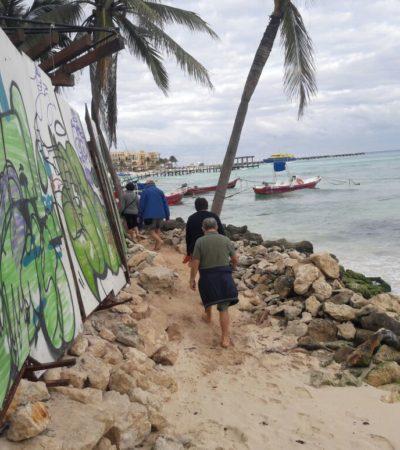 Piden hoteleros de la Riviera Maya reactivar fideicomiso de recuperación de playas