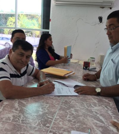 Pide Prudencio Alcocer registro como independiente para Bacalar