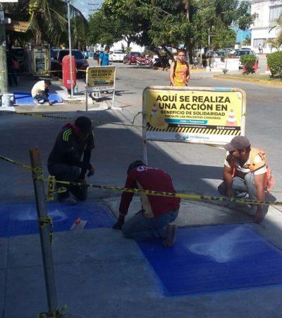 Detectan rampas para discapacitados mal hechas en Playa
