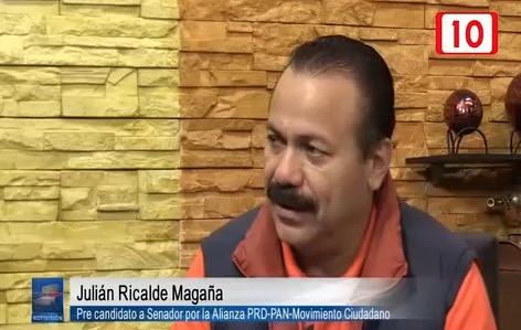 Critica Julián Ricalde desempeño de actuales Senadores por QR, en especial de Félix González Canto, creador de Borge