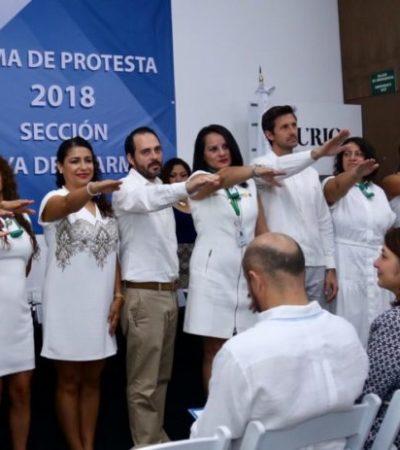 Rinde protesta nuevo Consejo Directivo de la AMPI Sección Playa del Carmen