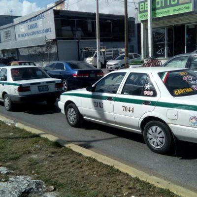Rechaza Sintra autorización de incremento a la tarifa de taxistas en Cancún