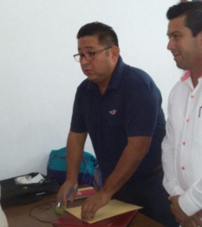 Se registra ex regidor Sergio Tolosa para Playa del Carmen