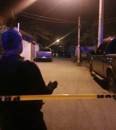 SEGUNDO EJECUTADO DEL AÑO EN CANCÚN: De tres balazos en el rostro, matan a balazos a un hombre en Alfredo V. Bonfil