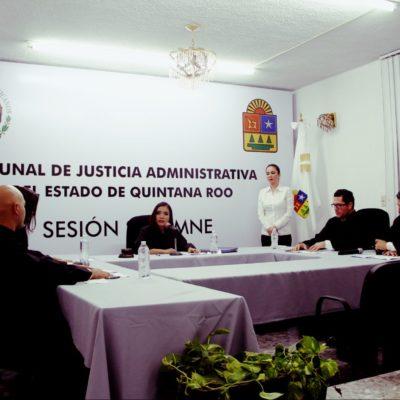 SIN OFICINAS VISIBLES, INICIA FUNCIONES TRIBUNAL DE JUSTICIA ADMINISTRATIVA: Nombran presidenta a la magistrada Mónica de los Ángeles Valencia