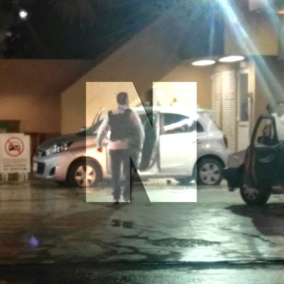 ATAQUE CONTRA MINISTERIALES EN CANCÚN | Saldo de un delincuente muerto y dos agentes heridos tras balacera en gasolinera de la Avenida Andrés Quintana Roo