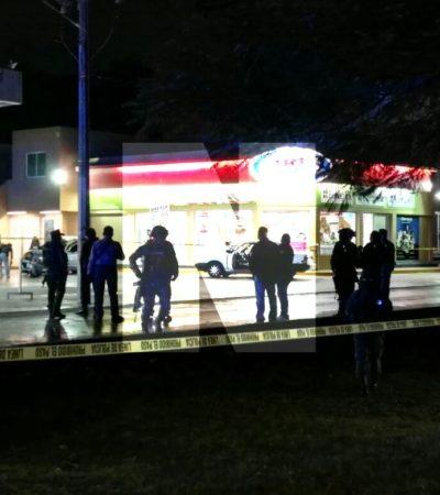 FUE UNA LLUVIA DE BALAS, PERO SÓLO UNO MURIÓ: Sicario abatido en ataque a policías en Cancún tenía licencia de conducir de Puerto Morelos