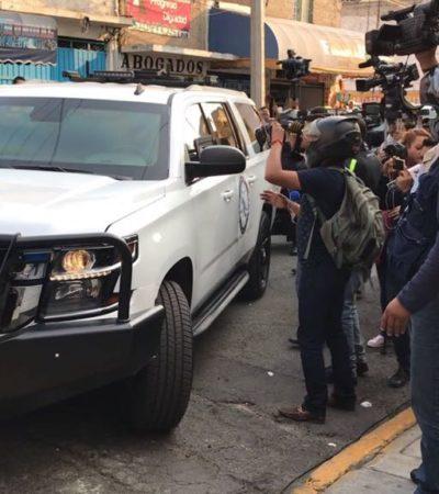 ESCUCHA BORGE ACUSACIONES EN AUDIENCIA: Imputan a ex Gobernador quebranto por sólo 900 mdp por venta de terrenos; se reserva su derecho a declarar