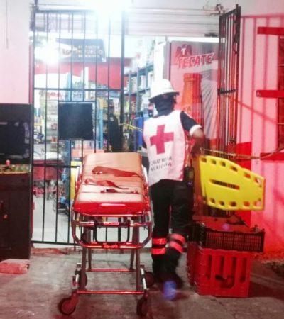 DOS BALEADOS EN CANCÚN: Ejecutan a un cliente y posteriormente muere en el hospital el empleado de un 'Six' alcanzado por disparos en la Región 256