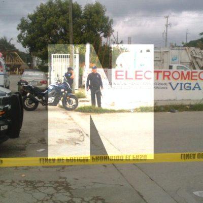 ASESINATO EN UN TALLER DE LA COLONIA COLOSIO: Encuentran a un hombre degollado en Playa del Carmen