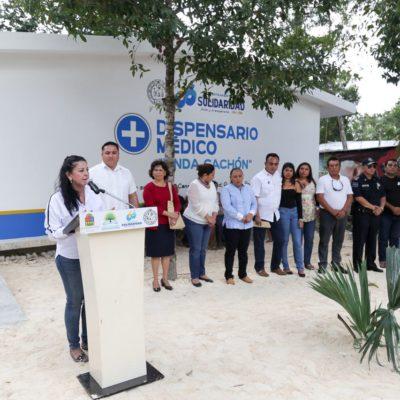 Inauguran Dispensario Médico en la comunidad Jacinto Canek de Solidaridad
