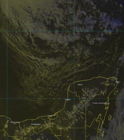 NUEVO FRENTE FRÍO EN PUERTA: Se pronostican bajas temperaturas para este miércoles y jueves en la Península de Yucatán