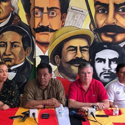 Dirigencia estatal del PT desconoce convenio de coalición en Quintana Roo; propondrán ir solos en los once Ayuntamientos