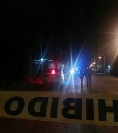 SUMA CANCÚN EJECUCIÓN 13 DEL AÑO: En su propia casa, matan a un hombre en la Región 225