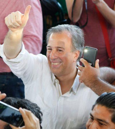 PASA MEADE POR CANCÚN SIN MOSTRAR 'MÚSCULO': Desangelado mitín del precandidato priista en el 'Toro' Valenzuela de Cancún