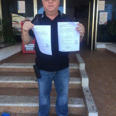 JUANITO, ¡YA PORTATE BIEN!: Le niega Alcalde de Isla Mujeres constancia de residencia al 'Indio Blanco', quien busca ser candidato a la presidencia municipal