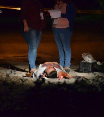 SIGUE OLA DE VIOLENCIA DE CANCÚN: Dos ejecutados, saldo de ataque armado durante la madrugada en la Región 230; suman 21 asesinatos en enero