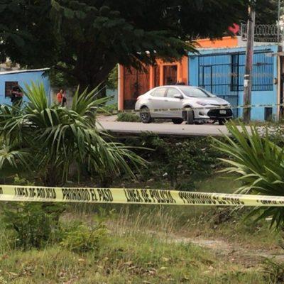 UN EJECUTADO MÁS, AHORA FRENTE A PLAZA CANCÚN MALL: Disparan contra un hombre que salía de su vivienda en la Región 229; suman 6 muertos y 6 heridos en sólo 24 horas