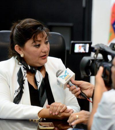 Es falso que se haya exonerado a Fredy Marrufo, dice diputada Eugenia Solís