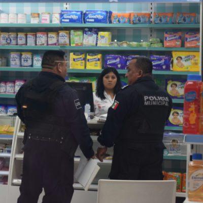 Asaltan farmacia y a clientes junto a la entrada de Puerto Cancún