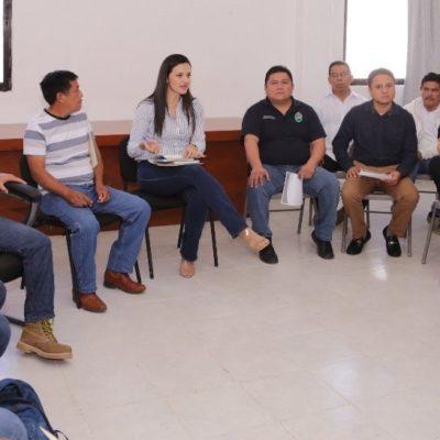 Reunión de seguimiento con delegados de Tulum