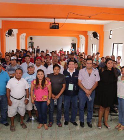 Ayuntamiento y Cofepris llevan curso de capacitación a comerciantesen Tulum