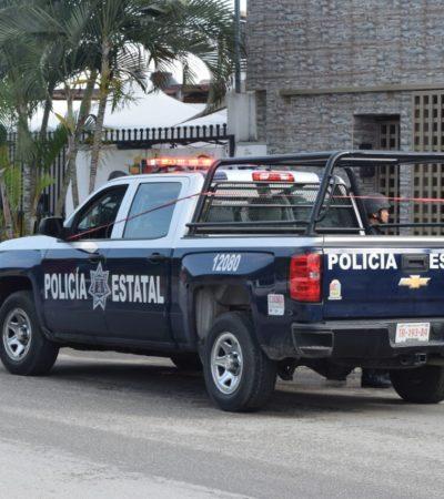 LANZAN GRANADA CONTRA PATRULLA ESTATAL: Fuerte movilización en Cancún por nuevo ataque con artefacto que no logró estallar