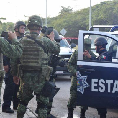 """""""TENEMOS EL RESPALDO DE FUERZAS FEDERALES"""": Asegura Secretario de Gobierno que no se dejan intimidar por ataques de la delincuencia en QR"""
