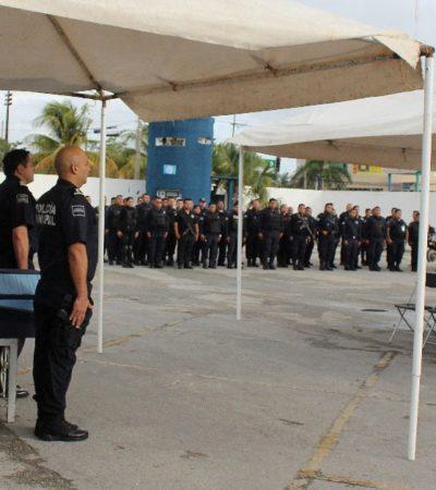 Rinden homenaje a policía abatido durante ataque a caseta de vigilancia de la Región 102 en Cancún