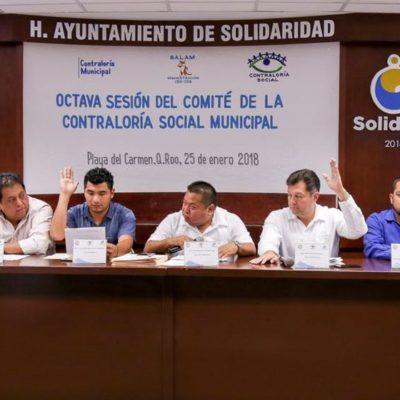 Supervisará ciudadanía acciones y obras públicas en Solidaridad