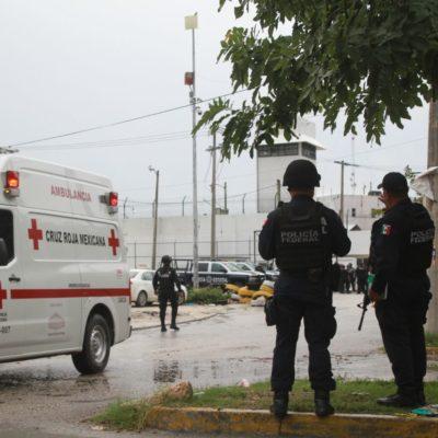 RIÑA EN LA CÁRCEL DE CANCÚN: Fuerte movilización por reporte de disturbios
