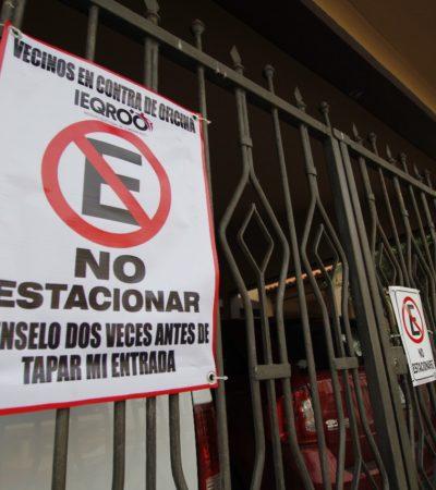"""""""VA A HABER MAYOR INSEGURIDAD"""": Se inconforman vecinos de la SM 41 por instalación de sede del Ieqroo en Cancún"""