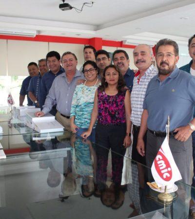 Busca cozumeleño la presidencia de la CMIC en Quintana Roo