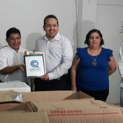 Solicitan los joaquinistas de 'Confianza por Quintana Roo' su registro como partido político local ante el Ieqroo