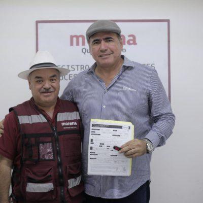 Con malestar de la militancia por la llegada de ex priistas, Morena registra a sus precandidatos a alcaldías en QR