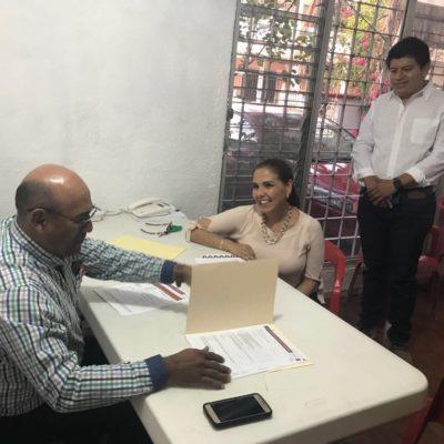 SE REGISTRA MARA EN LO 'OSCURITO': Con sigilo y en una sede alterna, finalmente la conductora formaliza intención de ser candidata por la Alcaldía de BJ