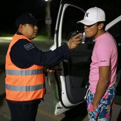 Inicia el Operativo Alcoholímetro en Tulum
