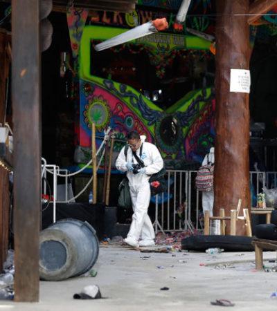 UN AÑO DE IMPUNIDAD DEL ATAQUE AL BLUE PARROT: Va lenta la justicia para resolver balacera en corazón turístico de Playa, aunque el expediente sigue abierto