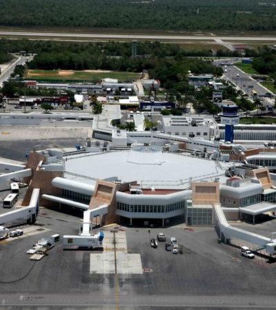 En 2017, el aeropuerto de Cancún creció 10.2% en flujo de pasajeros, en tanto que Chetumal lo hace con el 17.8%