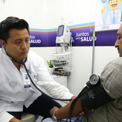 Debido a la demanda continuará la caravana 'Juntos por la Salud' en Tulum