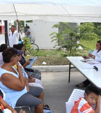 Concluye programa 'Juntos por tu Salud' en Tulum