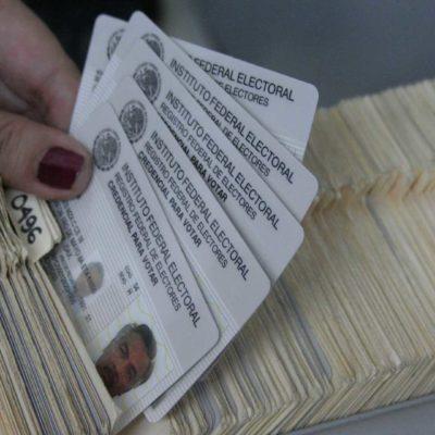 TODAS LAS CREDENCIALES SON VÁLIDAS: Ciudadanos de Puerto Morelos podrán votar con su credencial vigente anterior a la creación del municipio o con la nueva, aclara el INE