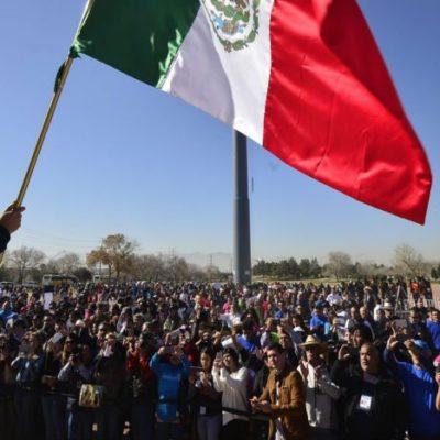 Inicia Javier Corral en Chihuahua marcha para exigir que el gobierno federal pague más de 700 mdp que Hacienda le retuvo por denuncias contra César Duarte