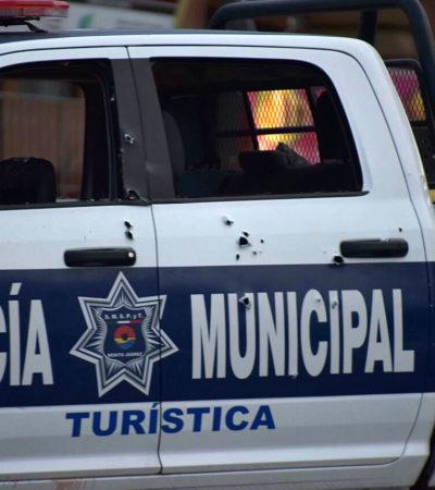 POLICÍAS BAJO FUEGO EN CANCÚN: Sin investigar presuntos vínculos con el narco de agentes tiroteados, suman 9 muertos y 7 heridos en poco más de un año