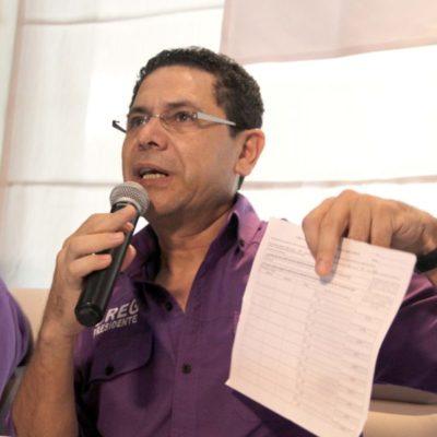 """""""EL QUE ESTÉ BUSCANDO PUESTOS QUE VAYA AL MERCADO"""": Rechaza Greg Sánchez acusaciones de petistas locales y dice que la alianza se firmó con el coordinador nacional"""