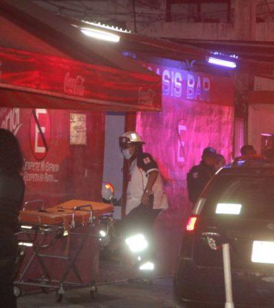 Ataque al bar el 'Oasis' en Cancún podría tratarse de un ajuste de cuentas por no pagar derecho de piso a grupo delictivo